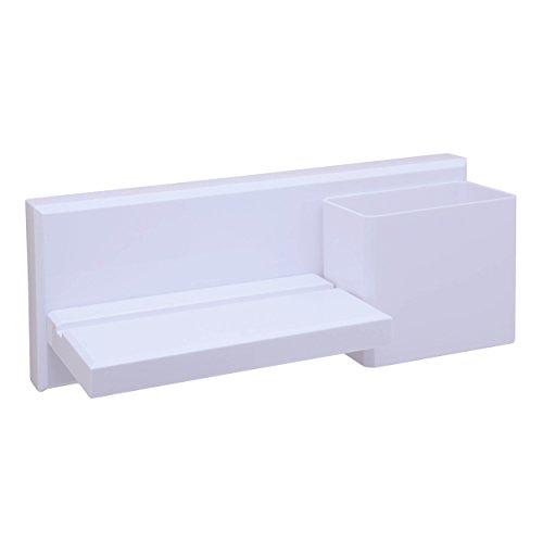 OKOMATCH Wall Mounted Shelf Multi-purpose Adhesive Suction C