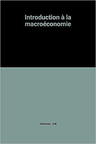 Lire un Introduction à la macroéconomie pdf