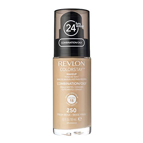 Revlon Colorstay Makeup Foundation 250 Fresh Beige (Beige)