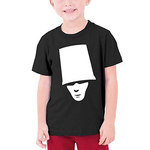 (TheresaT.Clodfelter Boys Buckethead Summer Fashion Cotton Concert Tennis Short Sleeves Tee Gift)