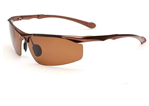 VAXT Point Men's Sports Goggles Al-Mg (Lens Colour : Bronze Frame Tea ()