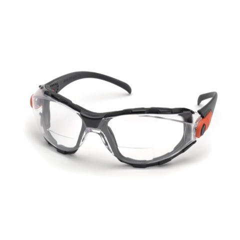 Elvex Go-Specs EVA Foam Lined RX Bifocals, Anti-Fog, PC LENS, Splash, Impact Spectacle/Goggle +2.5 Diopters, Clear by - Specs Online Prices