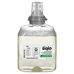 TFX Green Certified Foam Hand Cleaner Refill, Unscented, 1200ml