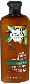 Price comparison product image Herbal Essences Biorenew Smooth Golden Moringa Oil Shampoo, 13.5 fl oz (Pack of 2)