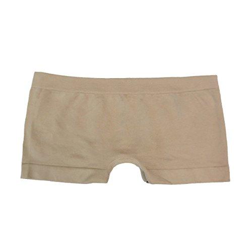Coobie Seamless Boy Short Panties (One Size, Nude)