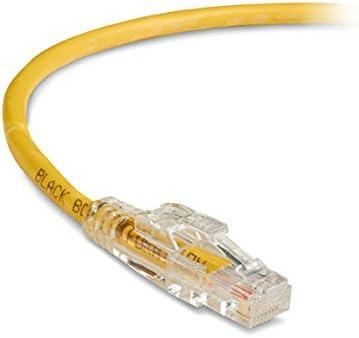Black Box GigaTrue 3 CAT6 550-MHz Lockable Patch Cable 15-ft. UTP 4.5-m Yellow