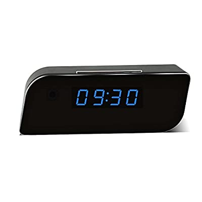 Eyeclub-Wi-Fi-Hidden-Camera-Spy-Wireless-Alarm-Clock-Improved-Version--with-One-More-Mini-DV-and-8GB-Micro-SD-Card---Black