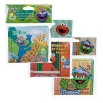 Sesame Street Bath Time Bubble Books Set of 3 - Welcome to Elmo's House, Sesame on Safari!, Let's Count - For Babies,toddler,kids Learning Play Time Toys - Best Infant Bath Toy - Loveable Characters Bath Set for Your Little One Let' s Count - For Babie