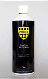 bc42686b71 Protex World Convertible Soft Top Canvas Restorer Black 1ltr. Specially  formulated to rejuvenate your faded