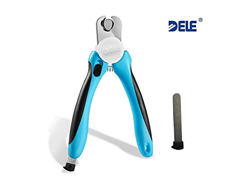 DELE Dog Nail Clippers and Trimmer for Small/Medium/Large Br