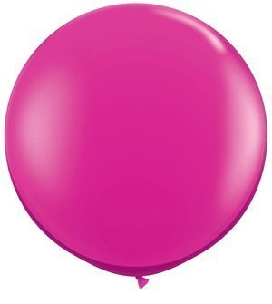 Single Source Party Supplies  Round 36  (3') Jewel Magenta Latex Balloons by Single Source Party Supplies