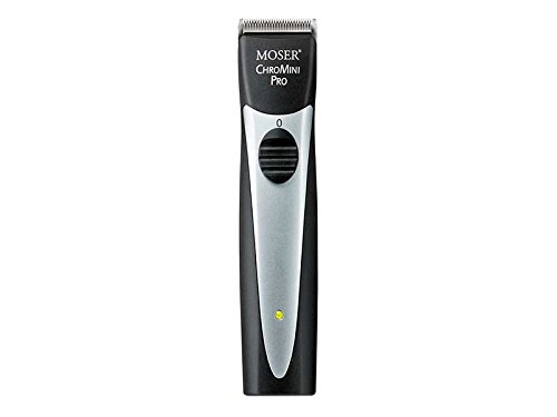 MOSER ChroMini Pro 1591 Black Professional Cordless Hair Trimmer