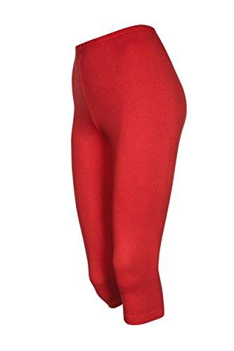 Galaxie - Leggings - para mujer Rojo