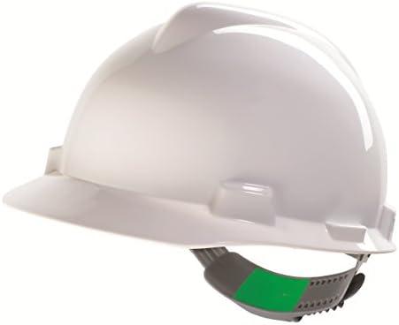 Casco de Protección MSA V-Gard con Ajuste Deslizante PushKey ...