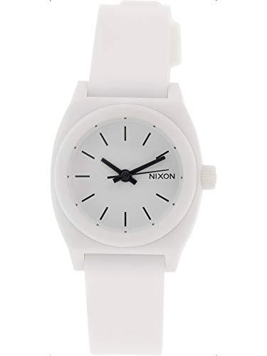 Nixon Women's Time Teller P A425100 White Plastic Quartz Watch