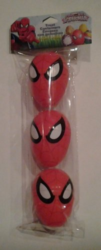 Marvel the Ultimate Spider-man Treat Containers - 3 Count