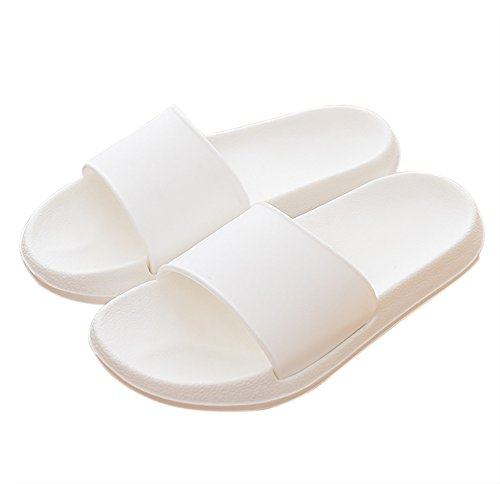 Unisex Slip-on Slippers Non-slip Open Toe Shower Sandals Indoor or Outdoor Mule Think EVA Resin Foams Sole Pool Shoes Bathroom Slide for Adult – DiZiSports Store