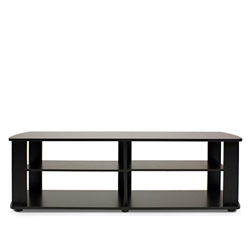 Furinno 11191BK THE Entertainment Center TV Stand, (Short Entertainment Stand)