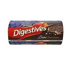 Mcvities Dark Chocolate Digestives 300g Pack of 4