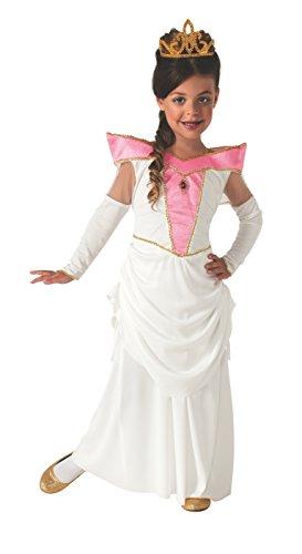 Aurora Ballerina Costume (Rubie's Elegant Princess Dress-Up Costume, Large)