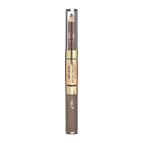 Revlon Brow Fantasy Pencil & Gel, 108 Light Brown, 0.051 oz