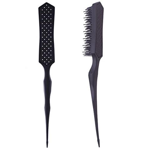 2pcs Teasing Brush Comb & Detangling Brush-multi-function for Teasing & Detangling by Perfehair
