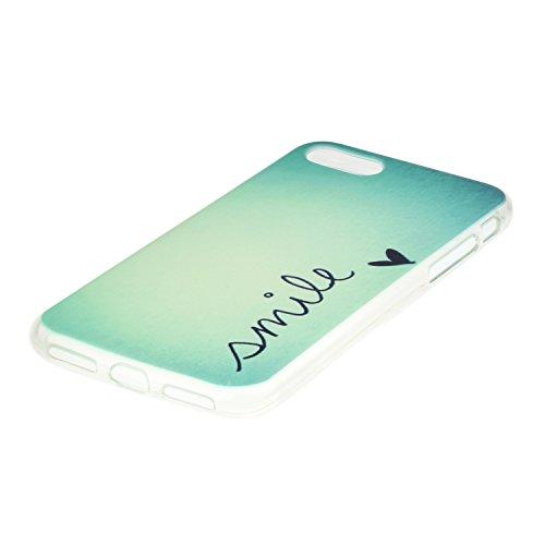 "Hülle iPhone 7 / iPhone 8 , LH Lächeln TPU Weich Muschel Tasche Schutzhülle Silikon Handyhülle Schale Cover Case Gehäuse für Apple iPhone 7 / iPhone 8 4.7"""