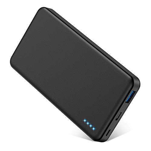 EGRD Portable Charger, 10000mAh Power Bank, QC3.0 18W PD Compact Battery Pack, Ultra Slim Fast Charging Charger USB C…