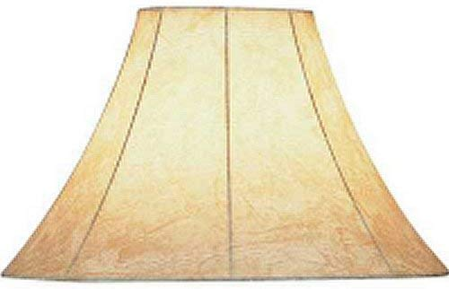 - Lite Source CH116-16 Faux Leather Bell Shade