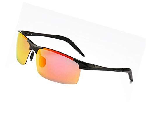 de hombres gafas las Gafas mujeres los Black hombres de los conducción sol las de al para de polarizadas aire Gafas para de protectoras viajar UV400 libre la TqZOf85