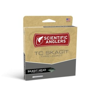 Skagit Shooting Head - Scientific Anglers Third Coast Skagit - Float Fly Line Heron/Fire Gold, 440gr