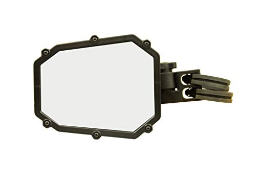 (ATV Tek UTVMIR-ES1 Elite UTV Deluxe Single Side Mirror with Dual Axis Breakaway)