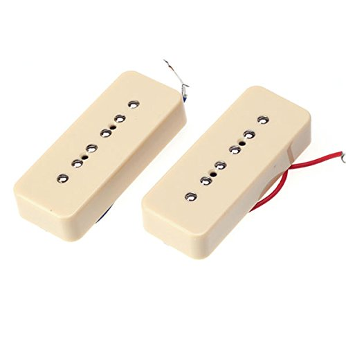 (Generic Cream Single Coil Soap Bar pickups For P-90 P90 Guitar 50MM / 52MM)