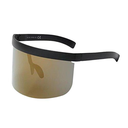 SurdimensionnéS Eyewear Unisexes H HCFKJ Lunettes Soleil Un Hat Vintage De Rondes Anti Lunettes Cadre RéTro 8qTO0