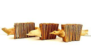 Clapper Clacker Shaker Rattle Percussion Instrument- Animal Wooden Clacker - JIVE BRAND