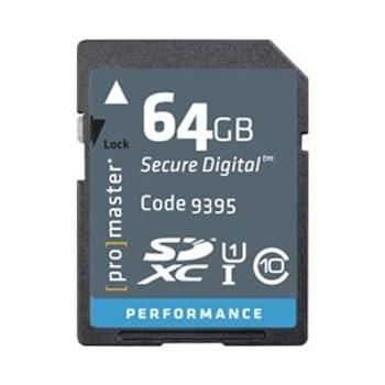 Amazon.com: PRO Performance 64GB, SD/XC, Class 10-266x ...