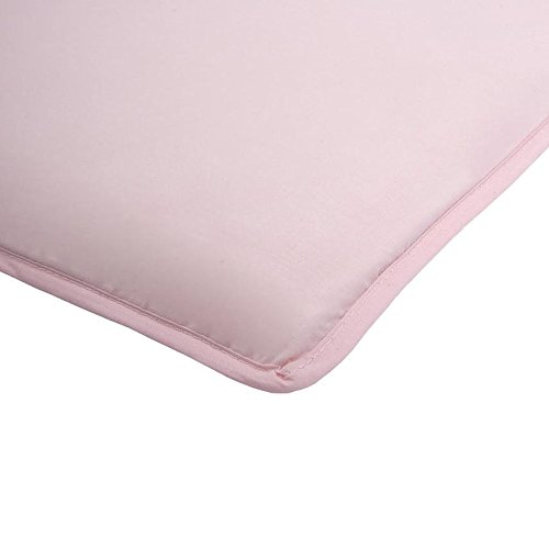 Mini and Clear-Vue Co-Sleeper 100% Cotton Sheets - Blush Arm' s Reach