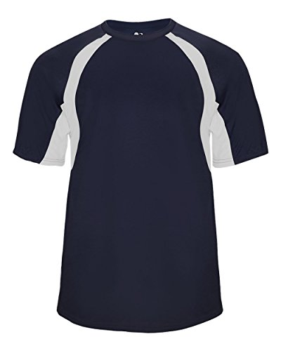 - Navy/White Adult Small Two-Color Shoulder Baseball/Softball Sports Wicking Jersey/Shirt