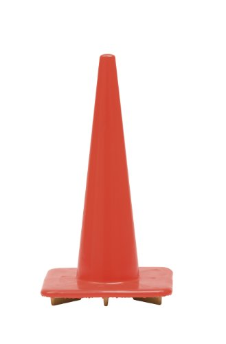 Work Area Protection 28PVCTL Polyvinyl Chloride Trimline Traffic Cone, 7-1/2