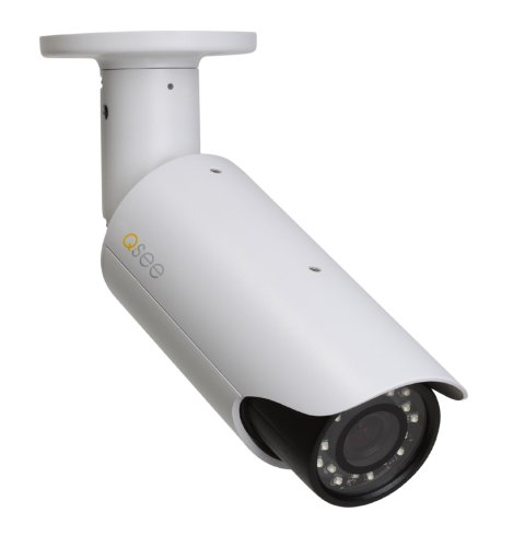 Q-See QCN8002B 1080p High Definition Weatherproof IP Bullet Camera (White) Review