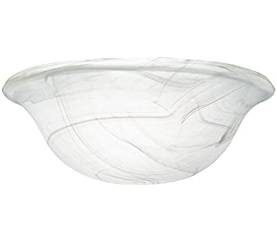 Kichler 340015 Universal Alabaster Swirl Glass Shade