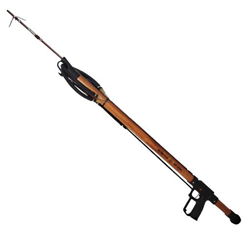 AB Biller 42in Special Speargun - Mahogany for Scuba Diving and Spearfishing - Mahogany Speargun