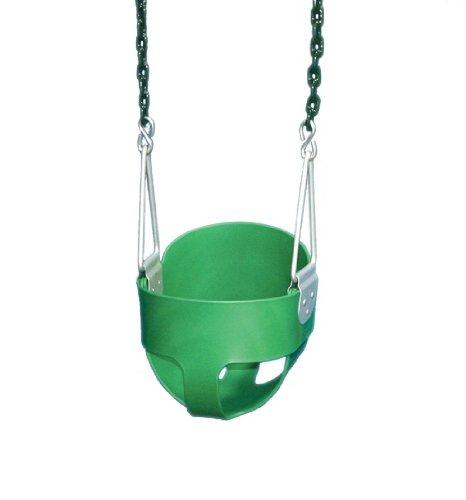 Full Bucket Swing - Green, by Gorilla