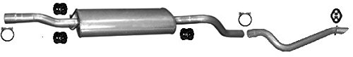pour VITO - 639 2.2 88//109//150hp 2003- el kit de montaje completo ETS-EXHAUST 5812 El sistema de silenciadores