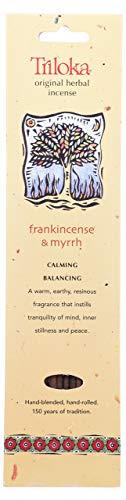 (Windrose, Incense Frankincense Myrrh, 10 Count)