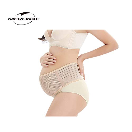 Merlinae Recommended Maternity Belt - Care Breathable Abdomen Support and...