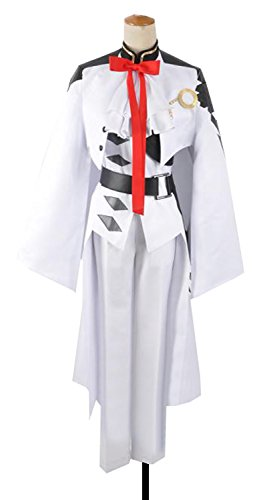 Dreamcos Seraph of the End Vampire Ferid Bathory Battle Suit Cosplay Costume by Dreamcosplay