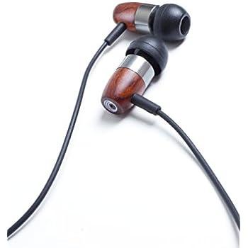 thinksound rain3 Wood In-ear Headphone with Passive Noise Isolation (Gunmetal Chocolate)