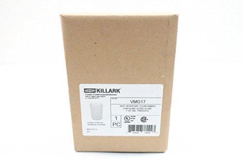 - New KILLARK VMG17 Heat Resistant Clear Ribbed Glass Globe D626376