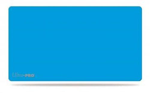 Solid Light Blue Play Mat Card Game